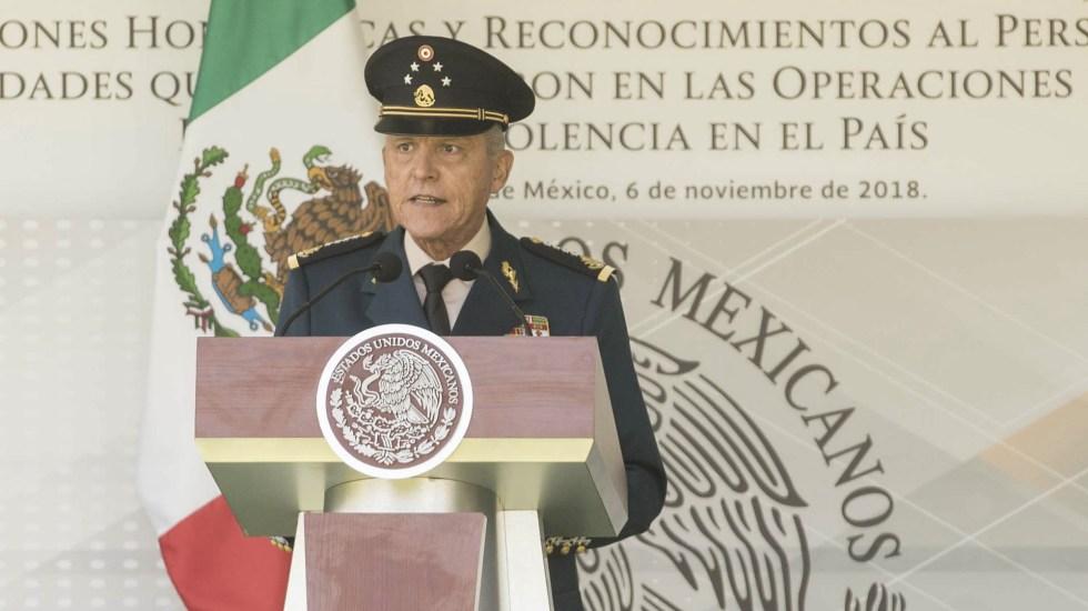 Jueza retira cargos contra el general Salvador Cienfuegos; México podrá hacerse cargo de la investigación en su contra - Salvador Cienfuegos. Foto de Presidencia