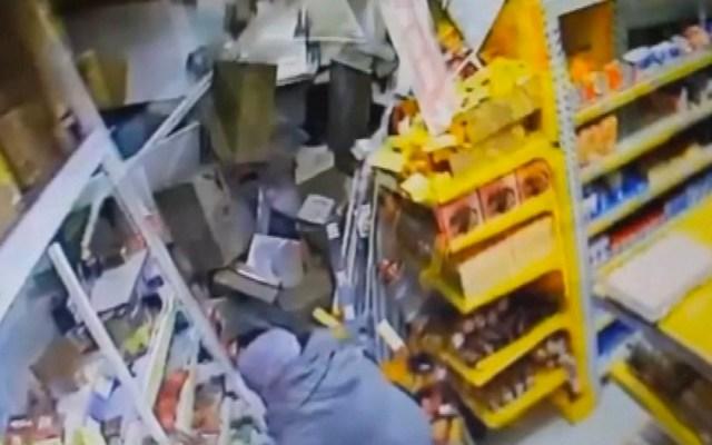 #Video Camión sin frenos se impacta contra supermercado en Rusia - Foto de RTE