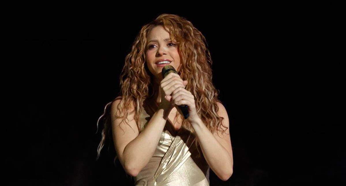Shakira en concierto. Foto de @shakira