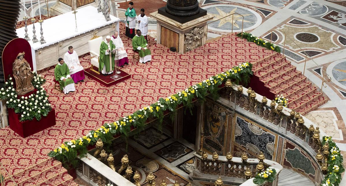 Sínodo de Obispos. Foto de AFP / Claudio Peri