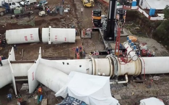 Corte de agua por mantenimiento del Cutzamala no era necesario: Conagua - Conagua Arreglos en el Sistema Cutzamala. Foto de @conagua_mx