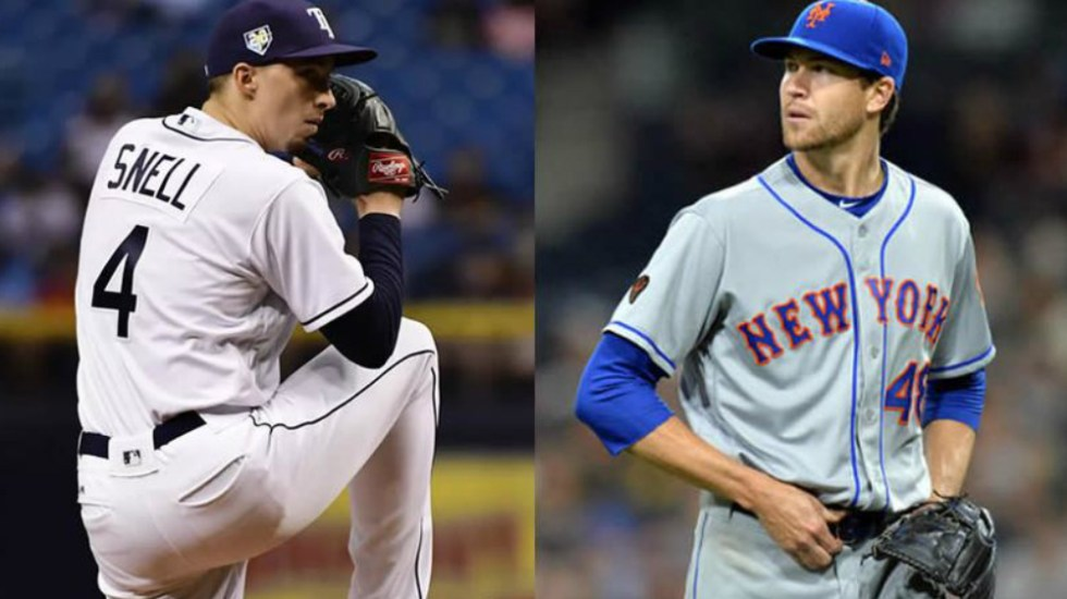 Snell y deGrom ganan el Cy Young en Grandes Ligas - Fotos de Getty