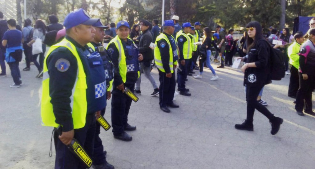 Mujer robó 19 celulares durante el primer día del Corona Capital - La SSPCDMX implementó un operativo de seguridad por el Corona Capital. Foto de @SSP_CDMX