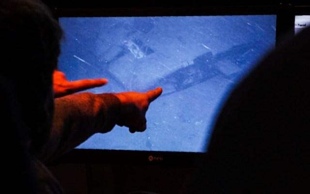 Ubican los restos del submarino San Juan en el Atlántico - Foto de HO/Ocean Infinity/AFP