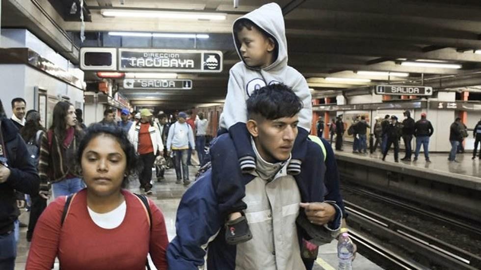 Metro dará servicio desde las 5:00 h el sábado por partida de migrantes - Foto de Quadratín