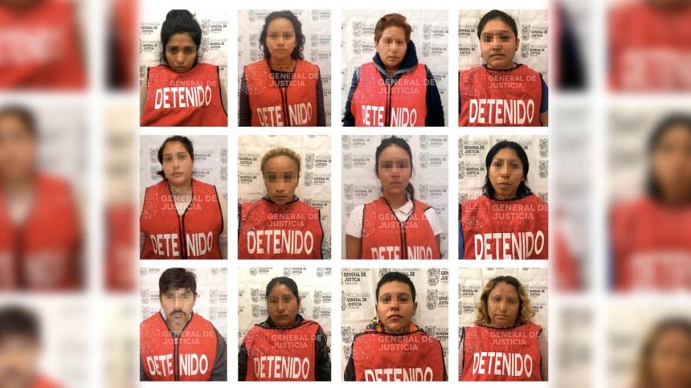 Detienen en Tamaulipas a 12 por extorsión agravada - extorsión