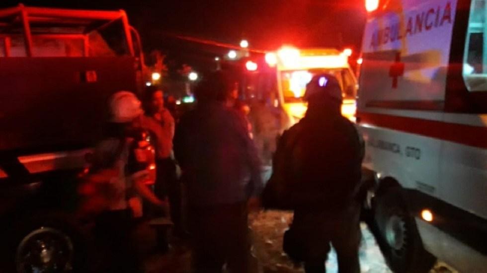 Matan a dos en tiroteo a equipo de futbol en Salamanca - Taxistas baleados en Salamanca. Foto de Enlace Guanajuato