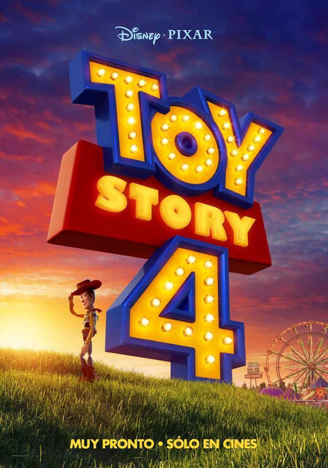 Nuevo poster de Toy Story 4. Foto de Disney Pixar