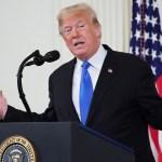 Trump entregará declaración sobre trama rusa la semana próxima - Donald Trump en conferencia de prensa. Foto de AFP / Mandel Ngan