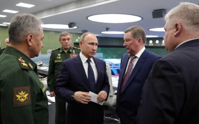Putin presume el éxito de pruebas de misil hipersónico - Putin presume nuevo misil hipersónico ruso