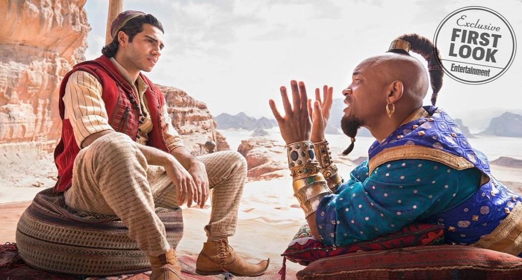 Disney prepara secuela de 'Aladdin' - Aladdin y el genio. Foto de EW