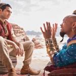 #Video El primer vistazo a los protagonistas de Aladdin - Aladdin y el genio. Foto de EW