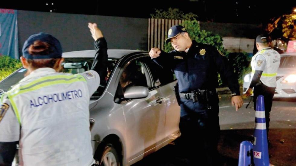 """Mandan a """"El Torito"""" a 47 personas en Nochebuena - Alcoholímetro de la Ciudad de México. Foto de @SSP_CDMX"""