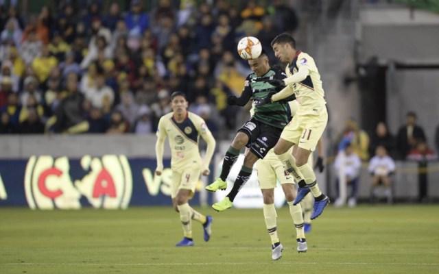 América y Santos Laguna empatan en duelo amistoso - Foto de @ClubSantos