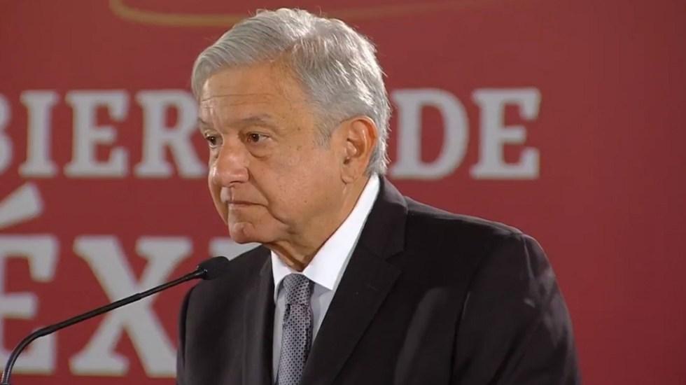 López Obrador no asistirá a comida con ministros de la SCJN - AMLO en su tercera conferencia de prensa matutina. Captura de pantalla