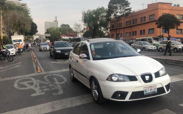 Desalojados levantan bloqueo en avenida Arcos de Belén