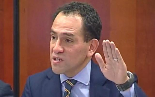 México asistió como espectador a reunión sobre plan para Venezuela: SHCP - Arturo Herrera, subsecretario de Hacienda. Captura de pantalla