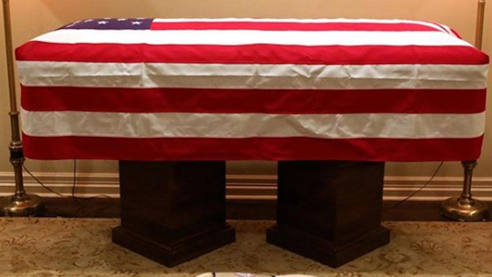 Trasladan a Washington ataúd de George H.W. Bush para homenajes - Foto de internet