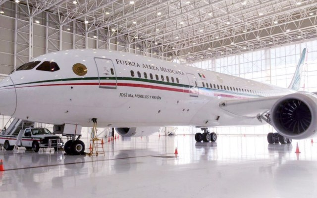 Anunciarán en la ONU venta del avión presidencial de México - Avión presidencial de México. Foto de @SHCP_mx
