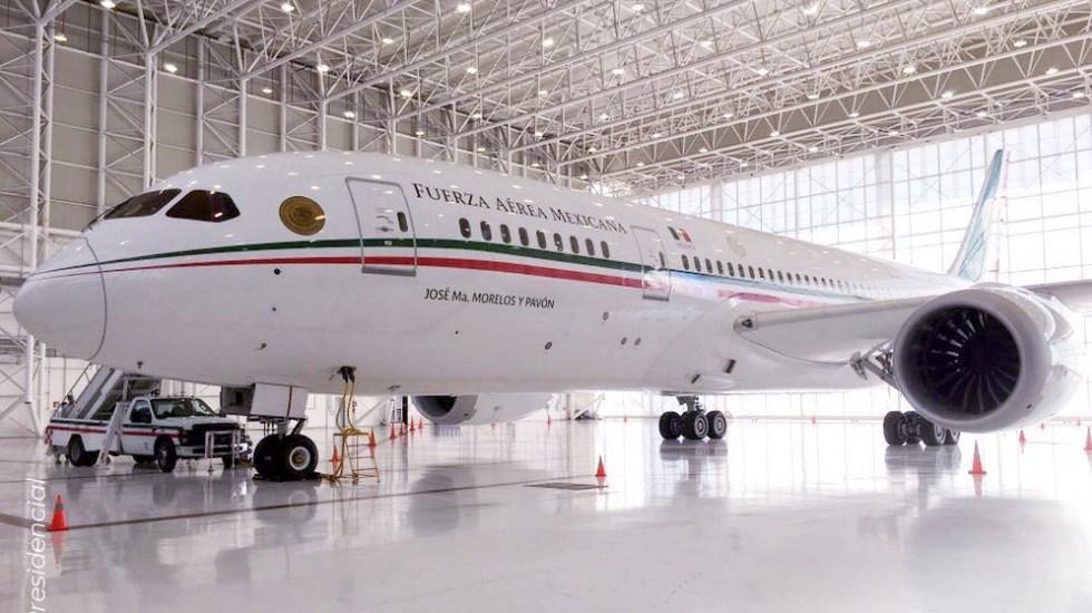 El avión presidencial se vende y este lunes despegará: SHCP - Avión presidencial de México. Foto de @SHCP_mx