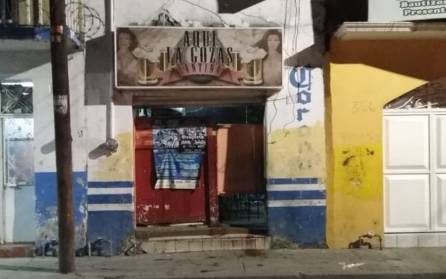 Comando asesina a cinco hombres en bar de Irapuato - Bar Aquí la Gozas de Irapuato. Foto de Twitter