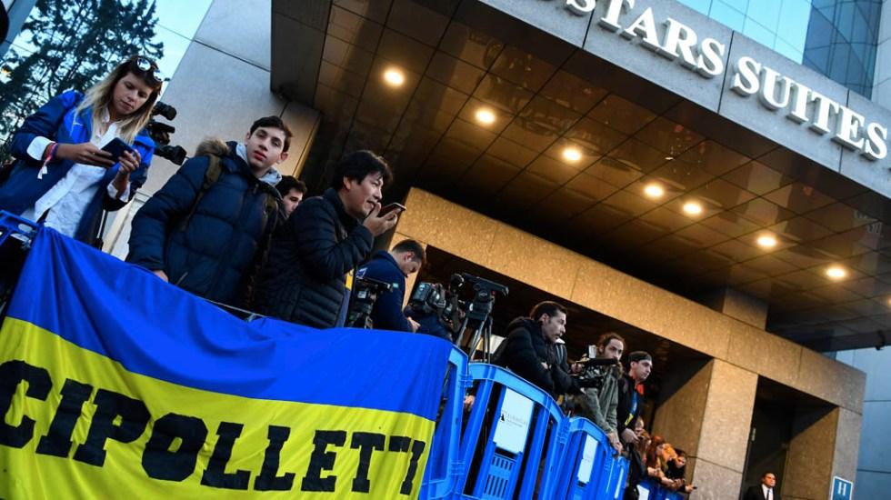 Boca Juniors ya espera en Madrid al River Plate - Foto de Gabriel Bouys/AFP