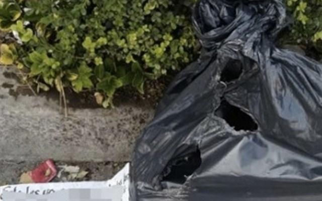 Abandonan cadáver en Tecámac - Foto de internet