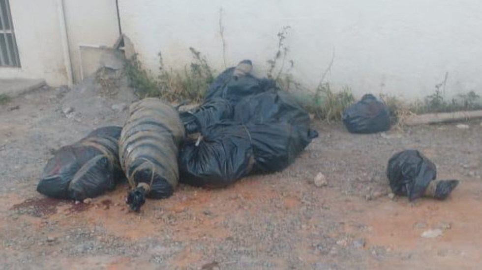 Abandonan bolsas con restos humanos en Chilpancingo - Abandonan bolsas con restos humanos en chilpancingo