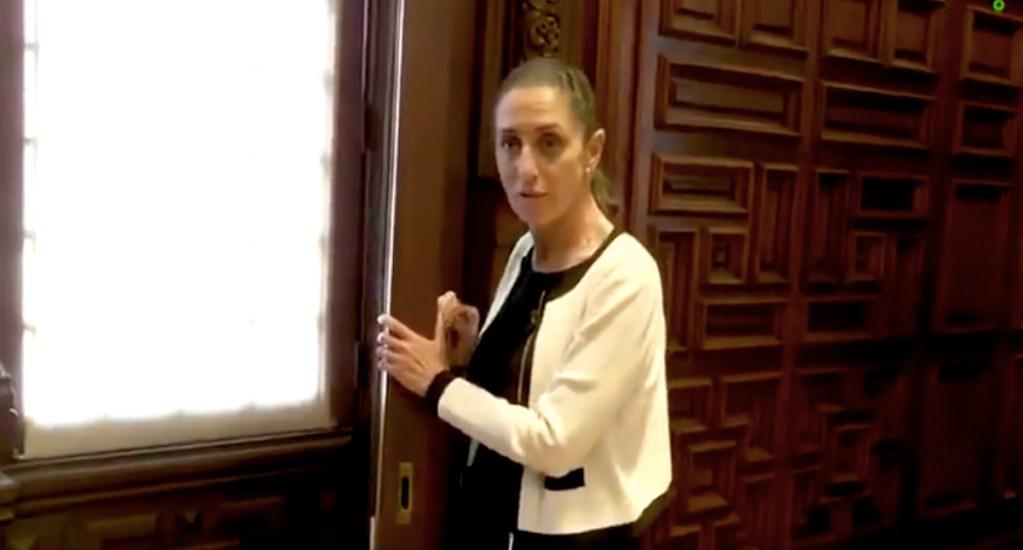 """#Video """"No necesito ventanas blindadas"""": Sheinbaum"""