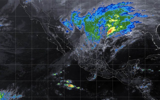 Prevén lluvia y frío para el norte del país por frente frío - Foto de Conagua