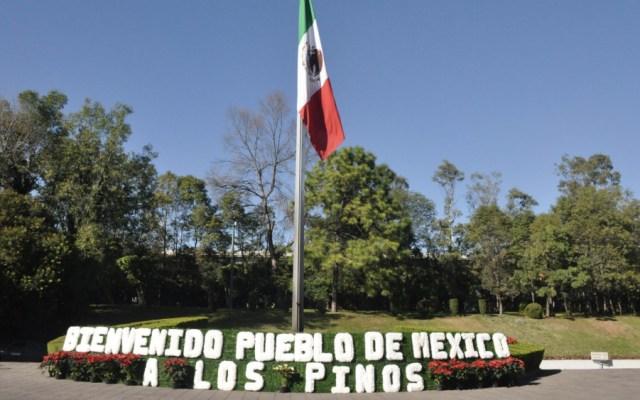 Asisten más de 20 mil personas a Los Pinos en primer día como museo - Foto de @alefrausto