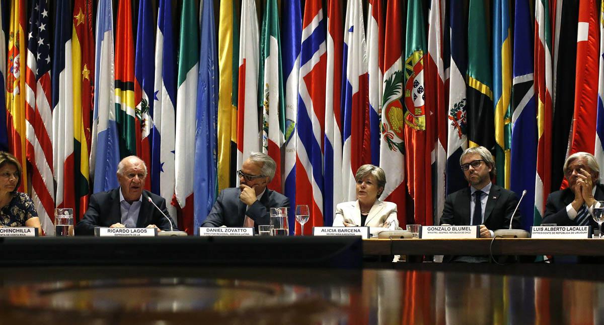 Inauguración de la conferencia internacional sobre el estado de Democracia en América Latina. Foto de CEPAL