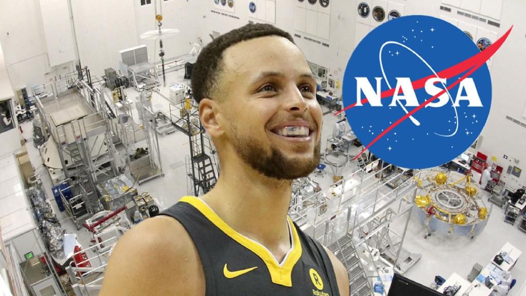 La NASA invita a Curry a visitarlos tras negar la llegada a la Luna - la nasa invita a stephen curry a visitarlos