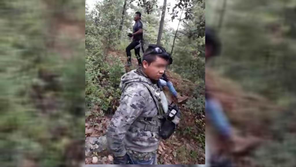 SSEM se pronuncia sobre emboscada a policías en Almoloya - Emboscada a policías del Edomex en Almoloya de Alquisiras. Captura de pantalla