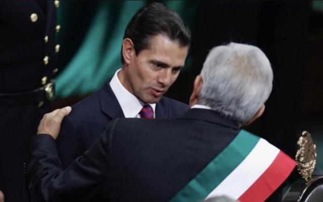 ¿A dónde fue Peña Nieto tras entregar la Banda Presidencial? - Foto de Quadratín