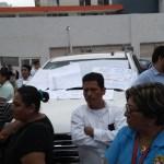 #Video Retienen a esposa del gobernador de Tabasco durante protesta - Foto de @xevtfm