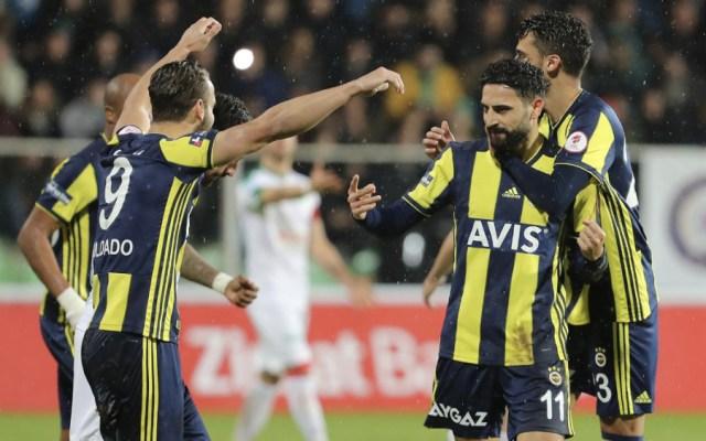Diego Reyes anota gol con Fenerbahçe en Copa de Turquía - Foto de @Fenerbahce