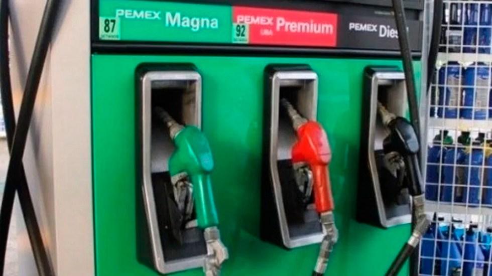 Precios de gasolinas estables pese a eliminación de estímulos - gasolina