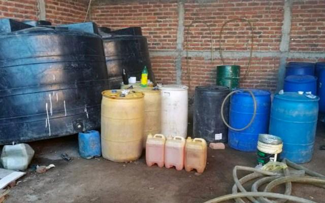 En 15 meses se recuperó 1 millón 632 mil litros de combustible en Edomex - Foto de CDN