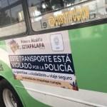 Iztapalapa arranca con programa de seguridad en transporte público - Foto de @Alc_Iztapalapa