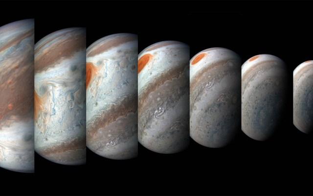 NASA revela imágenes nunca antes vistas de Júpiter - Júpiter. Foto de NASA