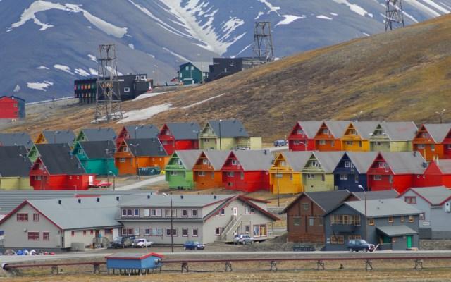 Asaltan el banco más septentrional del mundo - Foto de Internet
