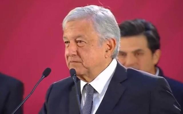 López Obrador defiende recortes presupuestales - López Obrador en conferencia de prensa matutina. Captura de pantalla