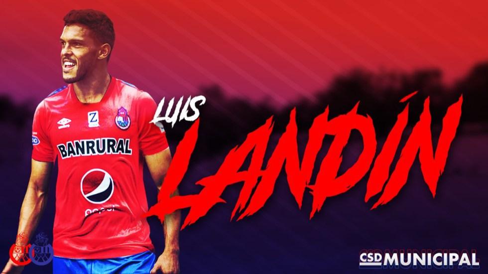 Luis Ángel Landín jugará en el Municipal de Guatemala - luis angel landin jugará con el municipal