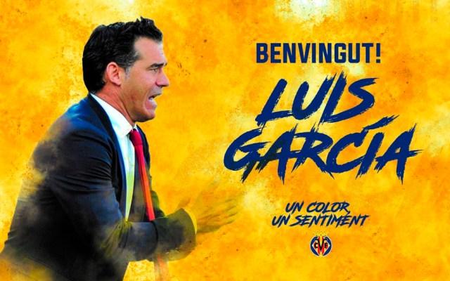 Luis García Plaza, nuevo entrenador del Villarreal - Foto de @VillarrealCF