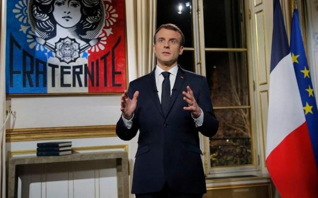 Macron llama a la unidad de los franceses en 2019 - Foto de Michel Euler / AFP