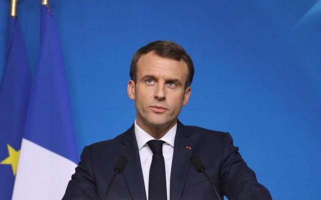 Macron anuncia nuevas medidas contra chalecos amarillos - Emmanuel Macron en el Consejo Europeo. Foto de AFP / Ludovic Marin