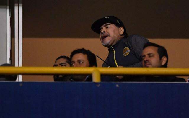 Comisión Disciplinaria sanciona a Diego Armando Maradona - Foto de Mexsport