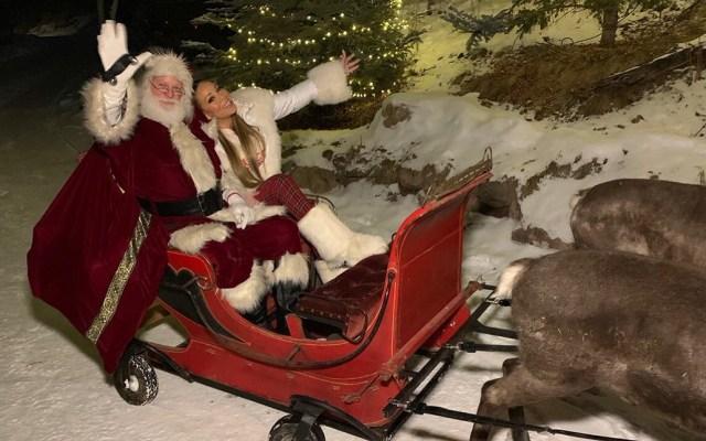 Mariah Carey rompe récord en Spotify durante Nochebuena - Mariah Carey disfrutando la Navidad. Foto de @MariahCarey