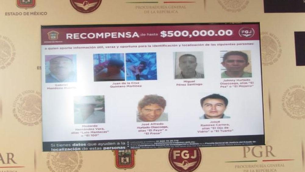 Ofrecen recompensa por los 47 delincuentes más buscados en Edomex - Foto de Quadratín